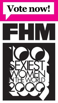 """Votação para Katie, neste Ano da """"100 mulheres mais sexy do Mundo"""