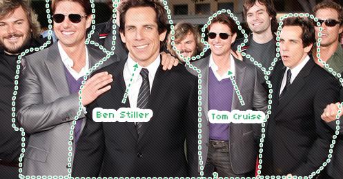 Ben Stiller e Tom Cruise