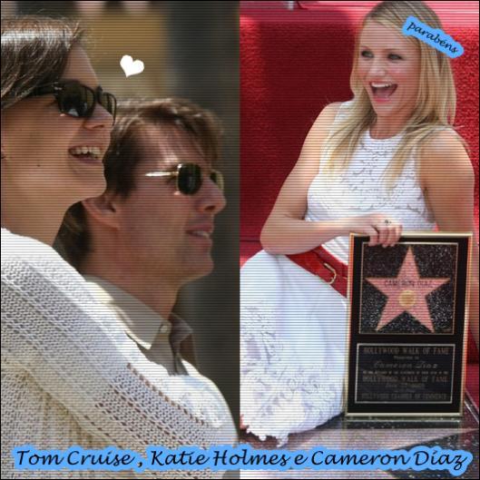 Tom Cruise, Katie Holmes e Cameron Diaz!