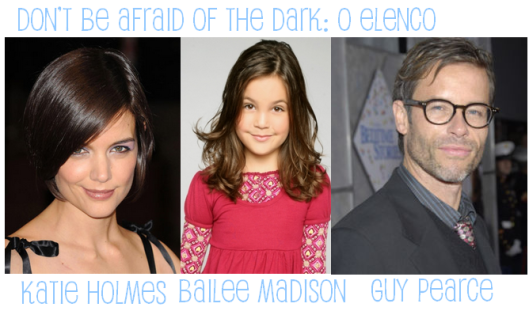 Katie Holmes, Bailee Madison e Guy Pearce