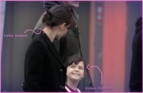 Katie Holmes e Bailee Madison