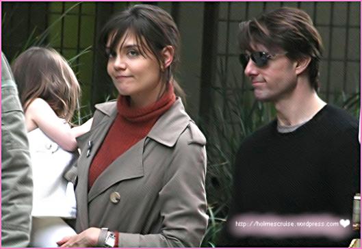 Katie Holmes, Tom Cruise e Suri