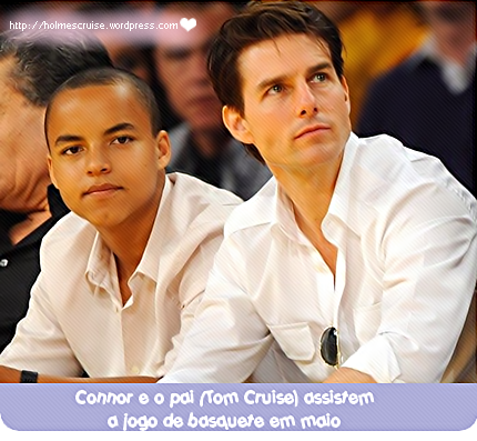 Tom Cruise e Connor Cruise