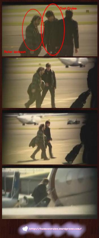 Tom Cruise e  Peter Jackson