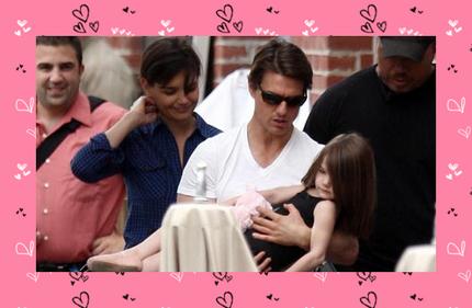 Tom Cruise, Katie Holmes e Suri