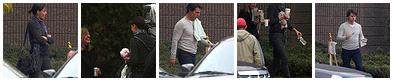 On set do filme 'Knight & Day', 24 de outubro de 2009