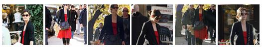 Katie Holmes foi para o  padaria Brunch - 6 de novembro de 2009