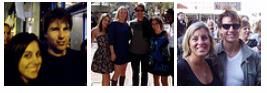 Tom Cruise e fãs, em Boston